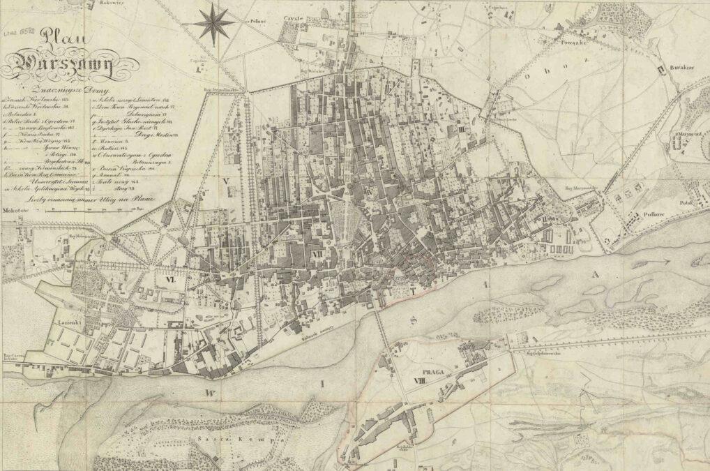Jak szukać w Warszawie Plan Kolberga