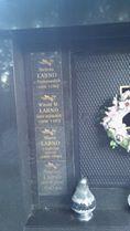 Grobowiec rodziny Łabno Bobowa lewa strona. fot: Igor Strojecki 2020