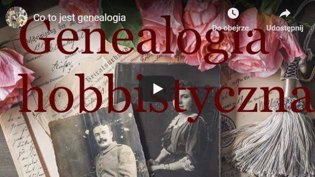 Genealogia hobbistyczna film na Youtube