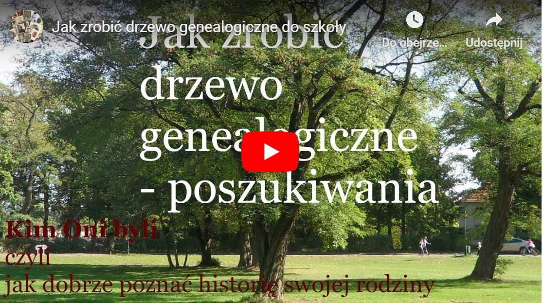 Jak zrobić drzewo genealogiczne film na YouTube